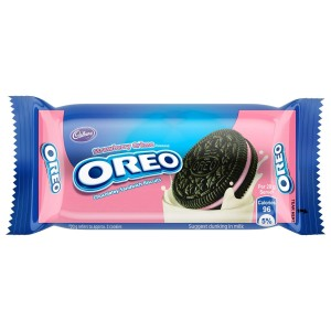 OREO CIASTKA MINI STRAWBERRY 61.3G