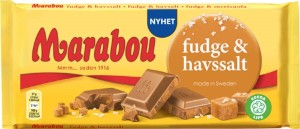 Marabou Czekolada Fudge Seasalt 185g