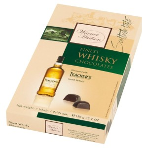 Warner Hudson Finest Whisky Chocolates 150g